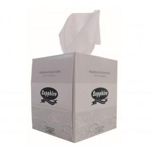 16116-Sapphire-Facial-Tissue-Cube-2-Ply-Virgin-90sh