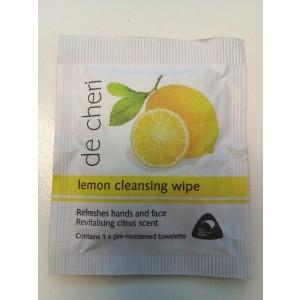 De Cheri Lemon Refresh Wipes (1000)