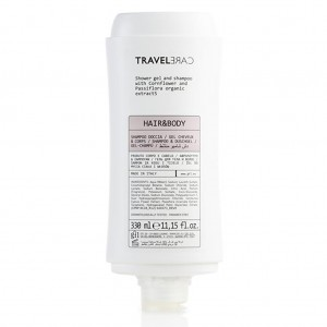 Travel Care Shower & Gel Shampoo 330ml