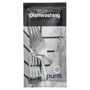 Puriti Dishwash Powder Sachet 10gm 500