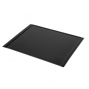 Black Melamine Amenity Tray 300Lx240W