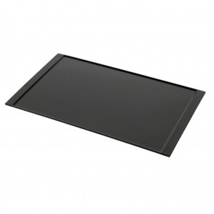 Black Melamine Amenity Tray