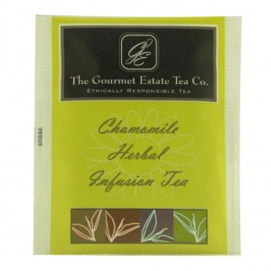 Gourmet Estate Chamomile Envelope Tea 100