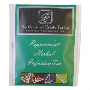 Gourmet Estate Peppermint Envelope Tea 100