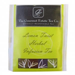 Gourmet Estate Lemon Envelope Tea 100