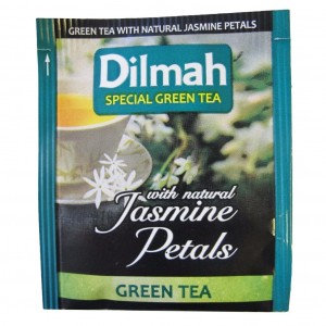 Dilmah Green & Jasmine Envelope Tea 100