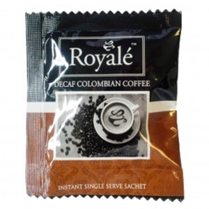 Royale Decaffinated Premium Coffee Sachet 500