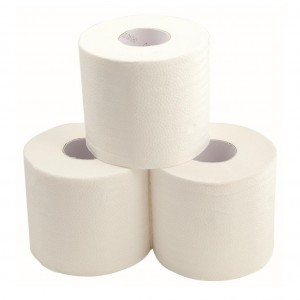 EcoGem Unwrapped Toilet Tissue Recycled 2 Ply 400sh