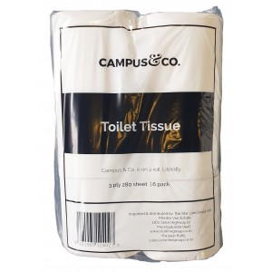 Campus&Co Toilet Paper 280sh 3 Ply (36)