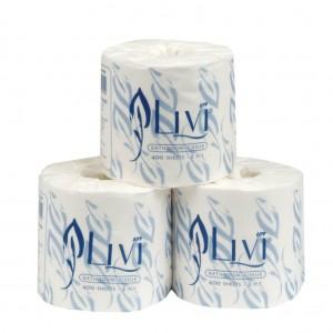 Livi Toilet Tissue 400sh (48)