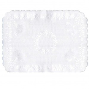 Tray Covers Embossed White 305x406mm 250