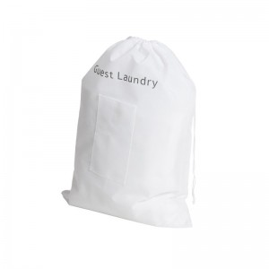 Non-Woven White Laundry Bag