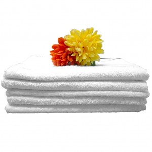 Presidential White Bath Towel 650gm 71x147