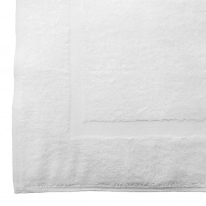 Regent White Bath Mat 230gm 51x71cm