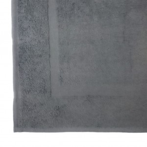 Lodge Linen Graphite Bath Mats