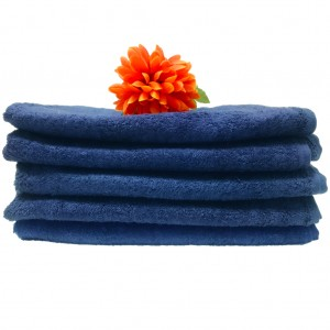 Lodge Linen Navy Bath Towel