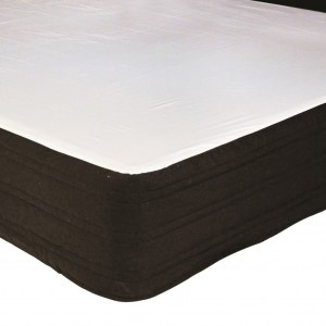 100% Cotton Padded Valance - King Single