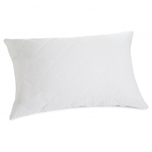 Pillow Protector Quilted Zipped