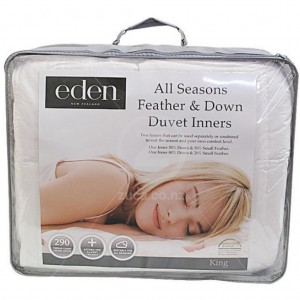 19342-Duvet Inners Eden All Seasons Feather & Down - Queen