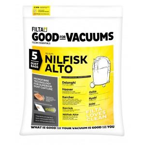 C019 Wet & Dry 20L Vacuum Bags 5pk
