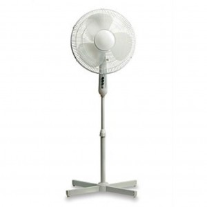 Goldair 40cm White Pedestal Fan