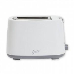 Nero White Toaster 2 Slice 850W