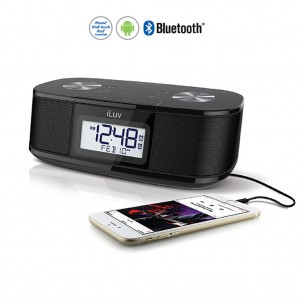 iLUV Bluetooth Alarm Clock