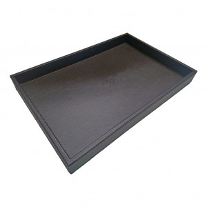 22120_Sofitel Brown Leatherette Room Tray
