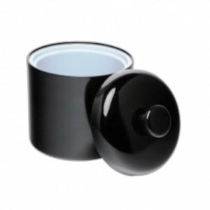 Round 1 8L Melamine Ice Bucket With Lid Black