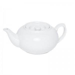 Stackable White Teapot 800ml