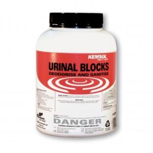 Kemsol Urinal Blocks 4kg