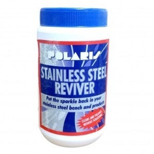 Polaris Stainless Steel Cleaner 450gm Pottle