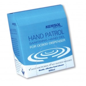 Kemsol Hand Patrol 800ml Cartridge for DC800 Dispenser