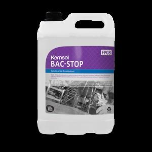 Kemsol Bac-Stop Disinfectant 5L DG8