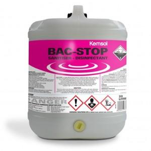 Kemsol Bac Stop SanitiserDisinfectant 20L