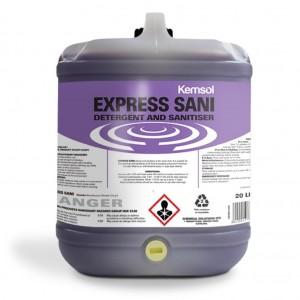 Kemsol Express Sani Detergent Sanitiser 20L