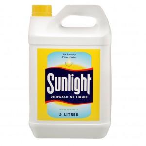 Sunlight Dishwash Liquid 5L