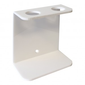 White-Acrylic-Double-Wall-Bracket