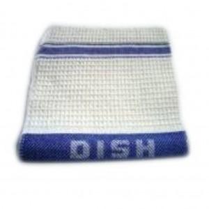 Dish Cloths Stripe Waffle 40gm 40cm x 40cm 12