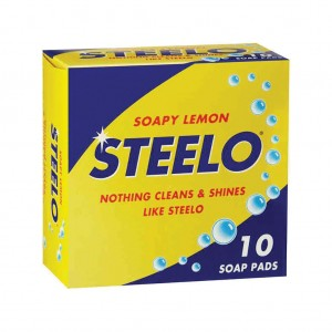 Steelo Scourer Soapy Lemon 10pk