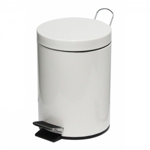 29678_5l-White-Powder-Coated-Pedal-Bin