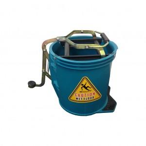 16l Wringer Mop Bucket Green