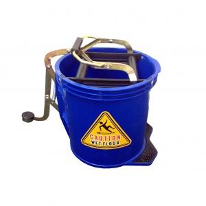 16l Wringer Mop Bucket Blue