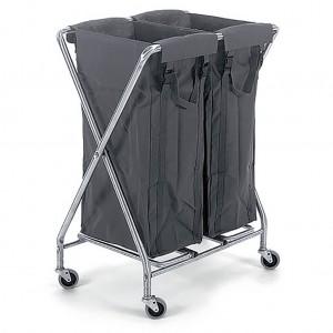 Numatic Folding Laundry Trolley (2x100L)