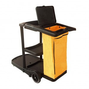 30366_Compass Janitors Cart with Lid