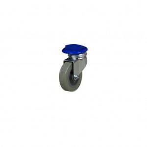 30373_PVC Wheel for Scissor Laundry Cart
