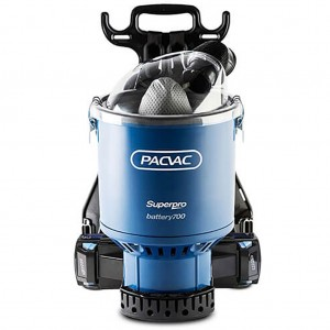 PacVac Superpro Battery Back Pack Vacuum