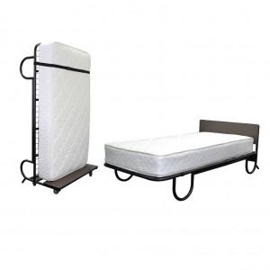 Compass Upright Rollaway Bed 200L x100W x 65H cm 20cm Mattress