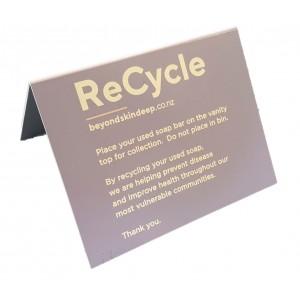 BSD CARD Guest Tent Sign - Soap