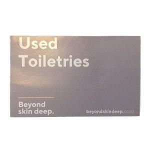 BSD Sticker for Trolleys - Toiletries